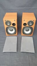 SONY SS-CPX1 Bookshelf Speakers With Grills - Working (Read Description)