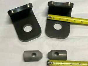"John Deere  1/2""   Quick Attach Weld Bracket 200 300 400 500 Loader Hooks & Pins"
