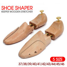Adjustable Wooden Shoe Tree Shaper Keeper Wood Stretcher UNISEX AU STOCK