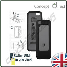 DUAL Sim Case Cover iPhone 6. Micro✔Standard✔ Compatible.1-Click Switch✔STOCKING
