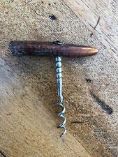 vintage antler corkscrew