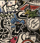 Surf Sticker Pack - Quiksilver Rip Curl Maui And Son Billabong Lost Surf Sticker