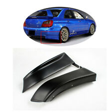 Auto Rear Lip Splitters Flaps Side Bumper Fit for Subaru Impreza WRX 2003-2005