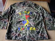 Vietnam War DANAN Map 66-67 ROK Korea Noodle Camouflage Souvenir Shirt #18