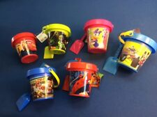 beach sand pail and shovel with Nickelodeon characters, in various colors, 5.5""