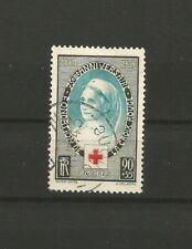 France 1939 Croix-Rouge timbre oblitéré /TR5731