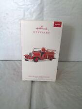 2018 - Hallmark Keepsake - 1932 Buick Fire Engine Ornament