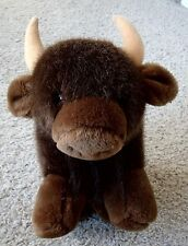 Collectible Pre-Owned Vintage Dakin Large Brown Buffalo Plush Animal Toy