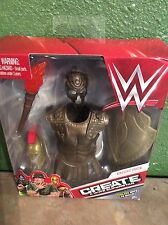 "WWE Create A Superstar KNIGHT Expansion Pack Dress up WWE 6"" inch Figures NEW"