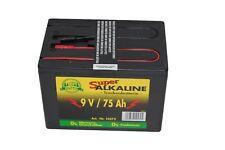 Alkaline 9 voltios 75 ah pradera batería weidezaungerät weidebatterie 75 ah