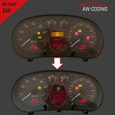 Audi A3 S3 8L FIS Display LCD MFA Pixelfehler Reparatur Tacho defekt
