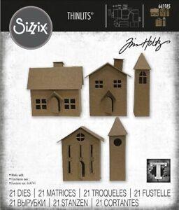Sizzix Paper Village 2 Die Set by Tim Holtz  NEW