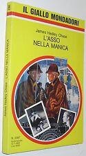 chase L'ASSO NELLA MANICA  il giallo mondadori  n 2267 (1992)  (g3)