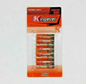 Heavy Duty AA / AAA Battery Carbon Battery R03P 1.5V Batteries 8 per pack