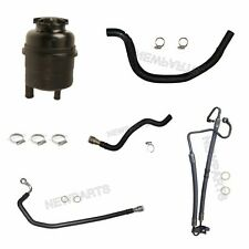 BMW E46 325i 330i 330ci 01-06 Power Steering Kit With Reservoir Clamps Hoses OEM