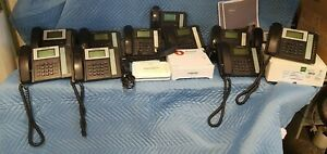 Fortinet FVC-100 Fortivoice PBX w/ 11 phones & Sonicwall firewall VOIP SET 7.31