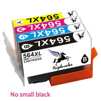 4pk New Ink Cartridge 564XL HY For HP 564 XL PhotoSmart 4610 5510 5520 6510 6520