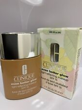 CLINIQUE Even Better Glow Light Reflecting Makeup SPF 15 #WN 44 Tea BNWB