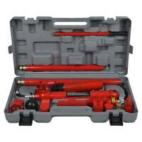 10ton Hydraulic Power Car Van Jack Body Porta Frame Repair Kit Auto Car Tool UK
