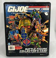 Hasbro GI Joe Battle Figure Collectors Case Action Figure Case Vintage 1991