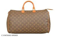 Louis Vuitton Monogram Speedy 40 Malletier Hand Bag M41522 - YG01270