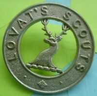 Scottish Lovat's Scouts Imperial Yeomanry Cap Badge WM 2 Lugs