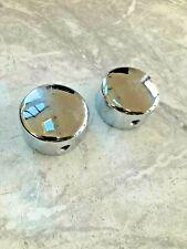 Harley Davidson wheel nut covers in chrome