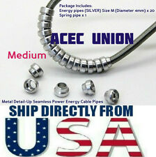 Metal Detail Up Seamless Power Energy Cable Pipes Size M MG HG Gundam USA SELLER