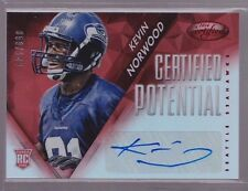 2014 Certified Mirror Red Kevin Norwood Auto Rc Serial # To 149