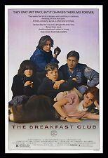 THE BREAKFAST CLUB * CineMasterpieces ORIGINAL MOVIE POSTER 1985 BRAT PACK