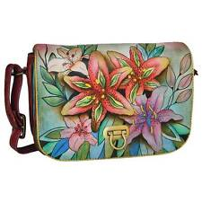 ANUSCHKA - Handtasche - Accordion Tasche mit Überschlag - Mod. 512 LLY