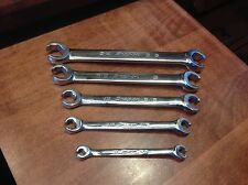 "SNAP-ON TOOLS SAE Flare Nut Wrenches Great For Classic Cars 13/16""-1/4"""