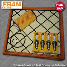 SERVICE KIT VAUXHALL ASTRA J MK6 1.6 16V FRAM OIL AIR FILTERS PLUGS (2009-2013)