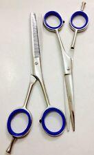 "6"" Pro Hair CUTTING+THINNING Set Barber Scissors Shears Titanium Razor Sharp"