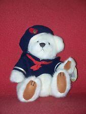 "BRASS BUTTON BEAR ""Taylor"" The Sailor,Bear of Happiness"