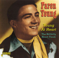Faron Young- Young at Heart (Jasmine 3570 NEW CD)