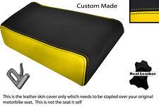 Amarillo Y Negro Custom Fits Yamaha Fzr 600 89-99 Trasero necesidades cubierta de asiento