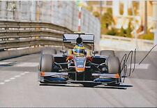 Bruno SENNA SIGNED MONACO Monte Carlo Rare 12x8 Photo AFTAL COA Autograph