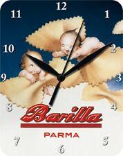 BARILLA PARMA NUDELN KÜCHE - Blechuhr Wanduhr Uhr Clock 77