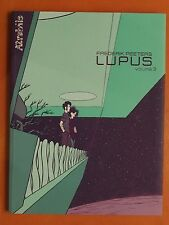 LUPUS Tome 3. Frederik Peeters. éditions Atrabile