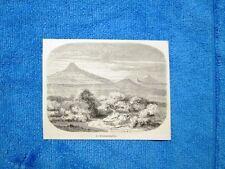 Gravure Année 1862 - Le Hohenstaufen (Allemagne - Germania)