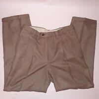 Farah Clothing Mens Dress Pants Slacks 55% Polyester 45% Wool