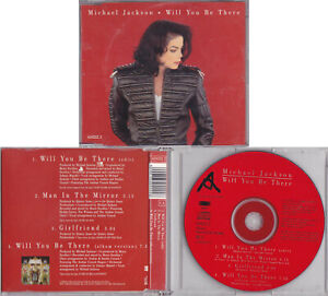 Michael Jackson WILL YOU BE THERE Maxi CD Single 1993