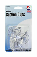 Med Suction Cup W/Hk 3Pk