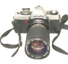 Minolta Xg-1 Camera with Viivitar 28-85mm f/3.5-4.5 Mc Macro Focusing Zoom Lens