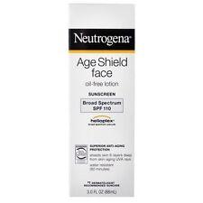 Neutrogena Age Shield Face SPF 110 Lotion 3oz Oil