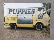 Ford Econoline Creepy Stalker Van Evil Clown Halloween Vintage Poster Metal Sign