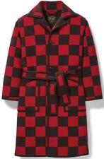 Filson x Pendleton Ltd. Blanket Robe Wool Blend Red Black, Men's L NWT MSRP $750