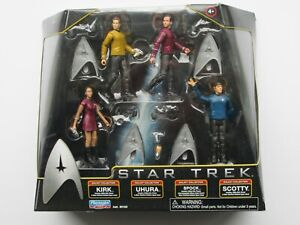 Star Trek Movie 4 pack figure set by Palymates Toys 2009 - factory sealed