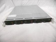 "SuperMicro X8DTL-3F 1U Half Depth Server 2.5"" SAS / SATA +Trays Homelab Vmware"